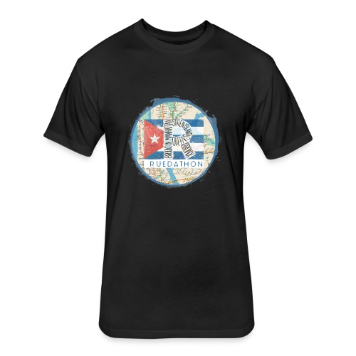 2019 Ruedathon Tee Shirt Design - Fitted Cotton/Poly T-Shirt by Next Level