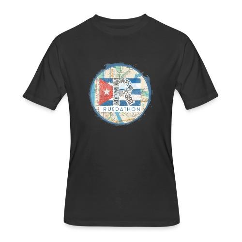 2019 Ruedathon Tee Shirt Design - Men's 50/50 T-Shirt