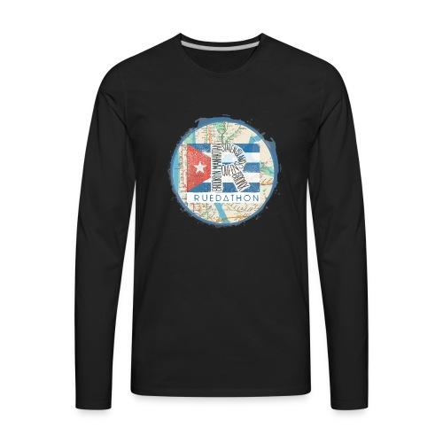 2019 Ruedathon Tee Shirt Design - Men's Premium Long Sleeve T-Shirt