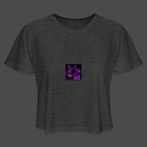 Official Electric Terror Mug (Purple) - Women's Cropped T-Shirt