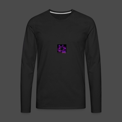 Official Electric Terror Mug (Purple) - Men's Premium Long Sleeve T-Shirt