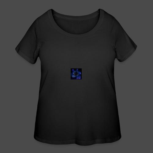 Official Electric Terror Mug (Blue) - Women's Curvy T-Shirt