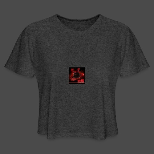 Official Electric Terror Mug (Red) - Women's Cropped T-Shirt