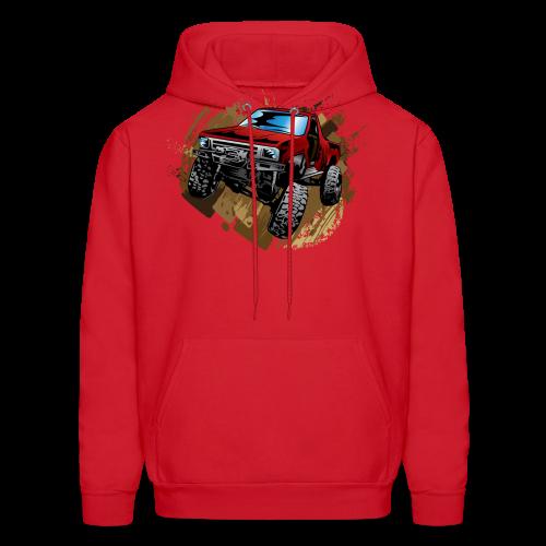 Red Rock Crawling Off-Road Truck Shirt - Men's Hoodie