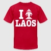 I Erawan (Love) Laos T-Shirts - Men's T-Shirt by American Apparel