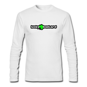 lucky bastard T-Shirts - Men's Long Sleeve T-Shirt by Next Level