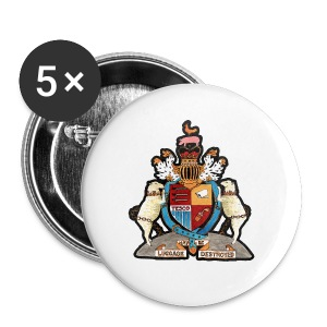 Coat of Arms (Standard Weight) - Small Buttons
