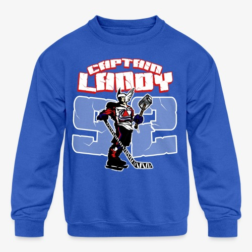 Captain Landy - Mens - Kids' Crewneck Sweatshirt