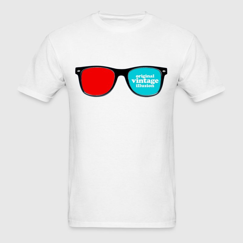 Vintage icons 02 - 3D glasses T-Shirts - Men's T-Shirt