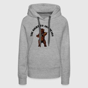 The right to arm bears - Women's Premium Hoodie