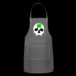 Adjustable Apron - Irish Skull Shirt - www.TedsThreads.co