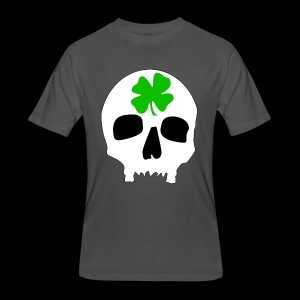 Men's 50/50 T-Shirt - Irish Skull Shirt - www.TedsThreads.co
