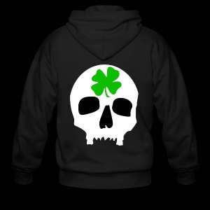 Men's Zip Hoodie - Irish Skull Shirt - www.TedsThreads.co