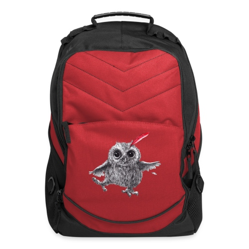 Chief Red - Happy Owl - Computer Backpack