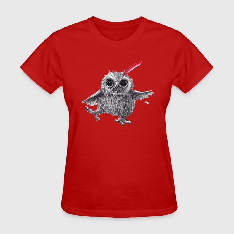 Chief Red - Happy Owl - Women's T-Shirt