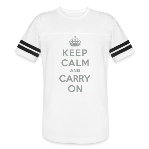 Keep Calm and Carry On - Vintage Sport T-Shirt