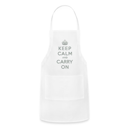 Keep Calm and Carry On - Adjustable Apron