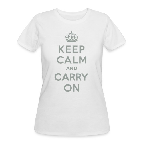 Keep Calm and Carry On - Women's 50/50 T-Shirt