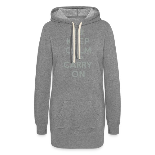 Keep Calm and Carry On - Women's Hoodie Dress