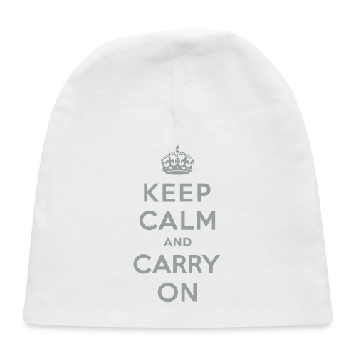 Keep Calm and Carry On - Baby Cap