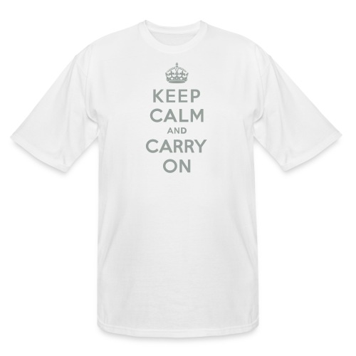 Keep Calm and Carry On - Men's Tall T-Shirt