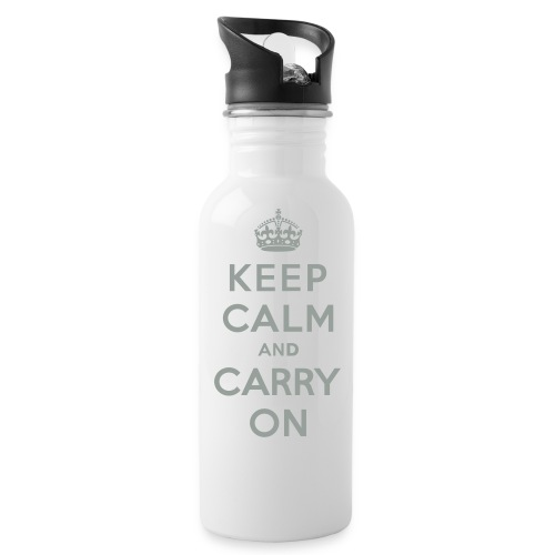 Keep Calm and Carry On - Water Bottle