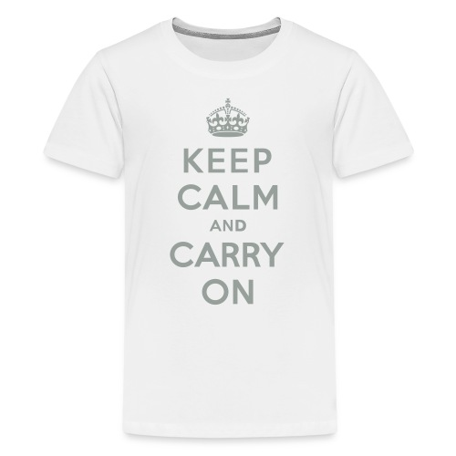 Keep Calm and Carry On - Kids' Premium T-Shirt