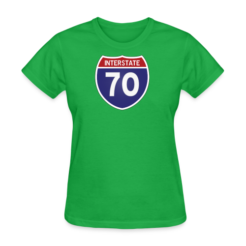 Interstate 70 - Mens - Women's T-Shirt