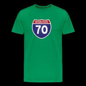 Interstate 70 - Mens - Men's Premium T-Shirt