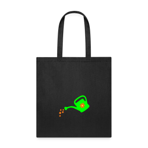 Watering Flowers Organic Garden T-Shirt - Tote Bag