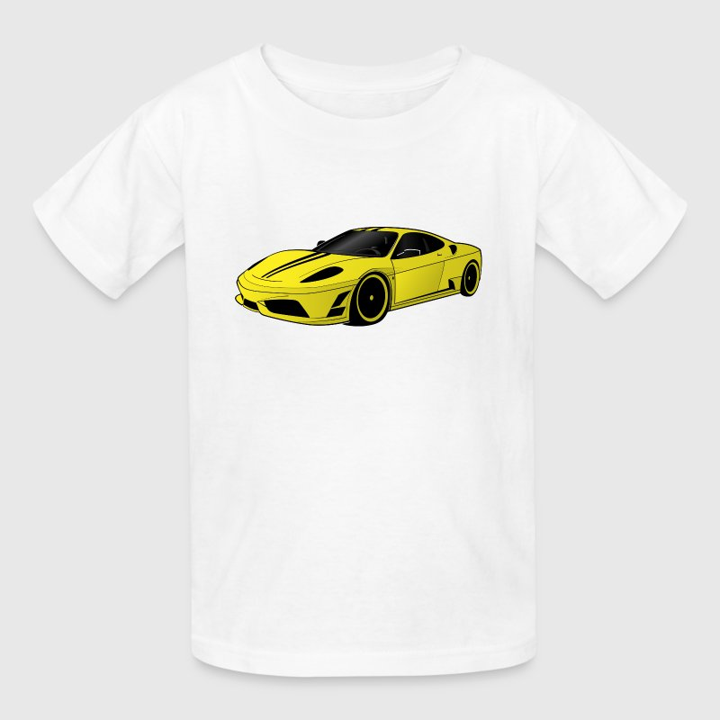 Supercar Kids' Shirts - Kids' T-Shirt