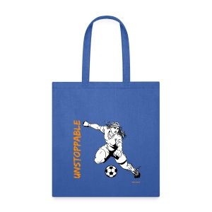 Soccer - Unstoppable - Women 2 - Tote Bag