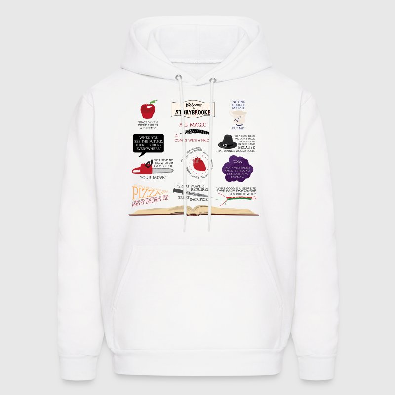 Once Upon a Time Quotes Sweatshirt for Men - Men's Hoodie