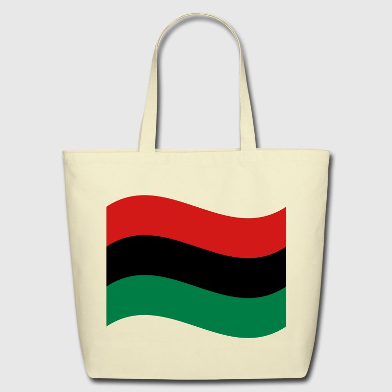 Red, Black & Green Flag Bags  - Eco-Friendly Cotton Tote