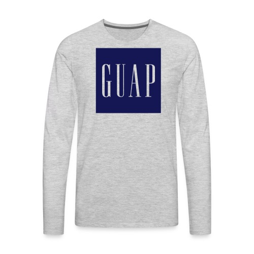 GUAP - Crewneck - Men's Premium Long Sleeve T-Shirt