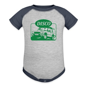 Land Rover Discovery illustration - Baby Contrast One Piece