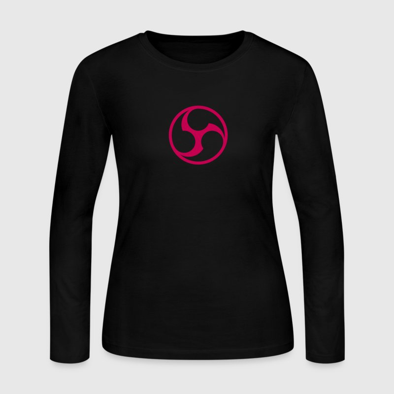666 Triple Six Symbol (outline) No.1_1c Long Sleeve Shirts - Women's Long Sleeve Jersey T-Shirt