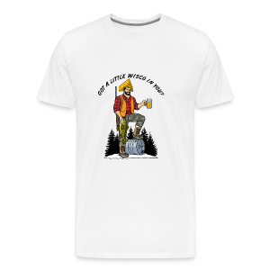 Capt'n Nort'woods (Digital Print) - Men's Premium T-Shirt