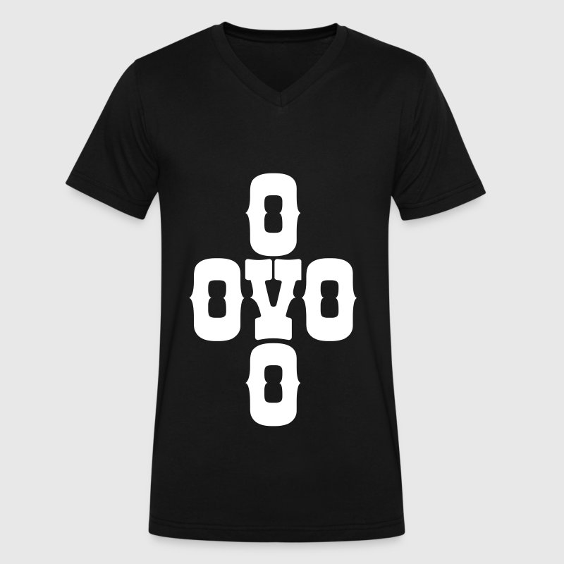 Xover oVo T-Shirts - Men's V-Neck T-Shirt by Canvas