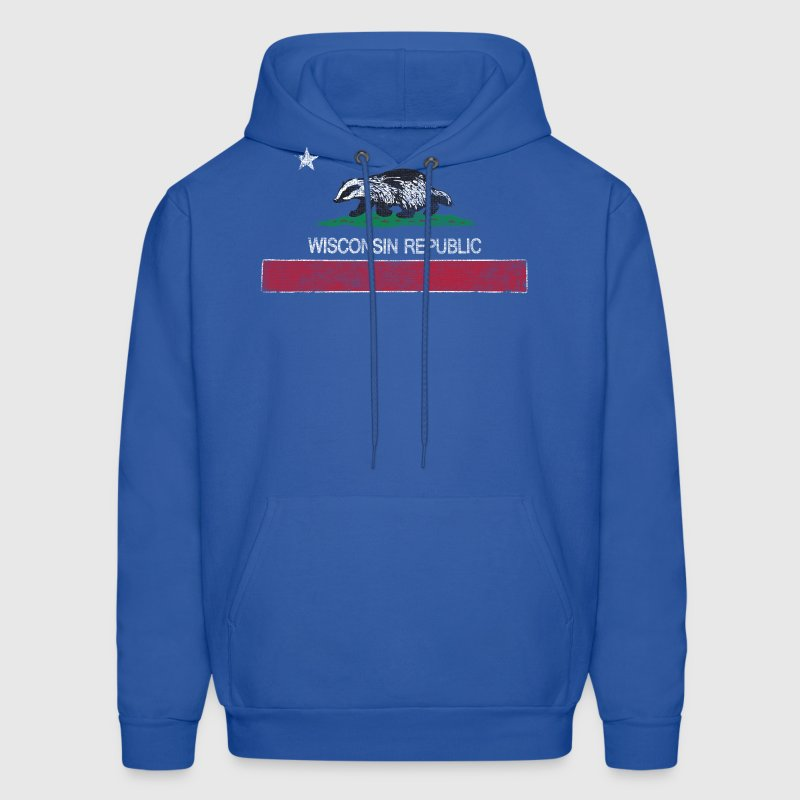 Wisconsin Republic Milwaukee Mart Hoodies - Men's Hoodie
