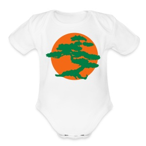 Bonsai Tree - Short Sleeve Baby Bodysuit