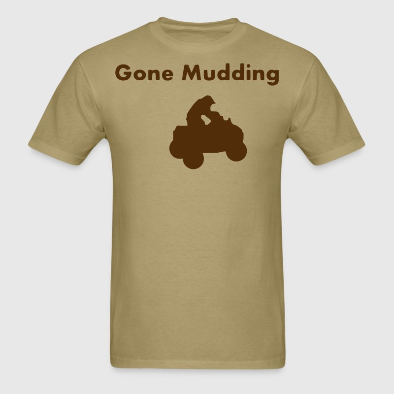 gone mudding 4 wheeler _ T-Shirts - Men's T-Shirt