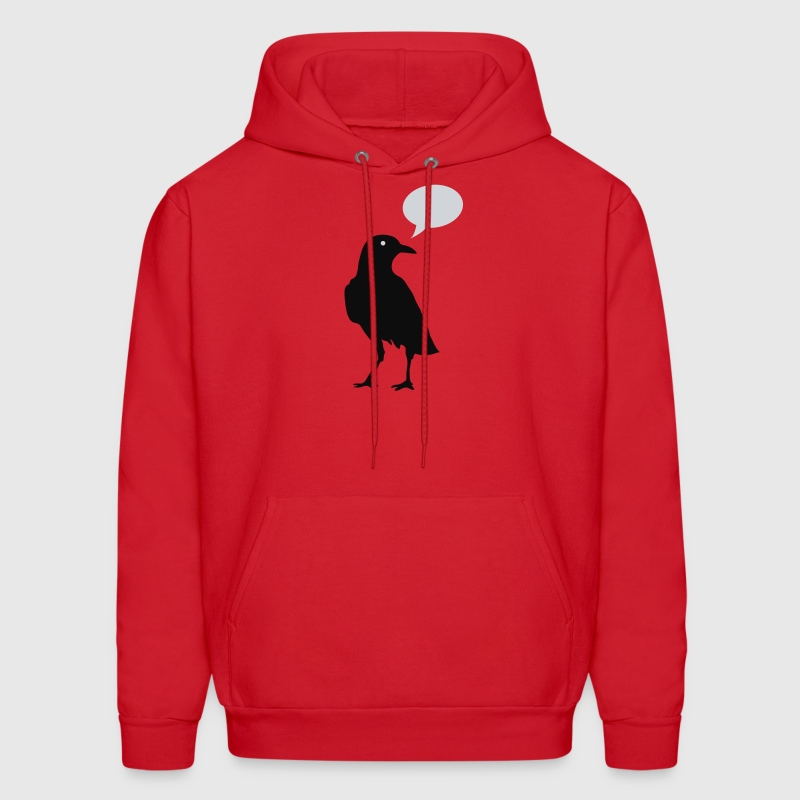 Quoth the Raven Hoodies - Men's Hoodie
