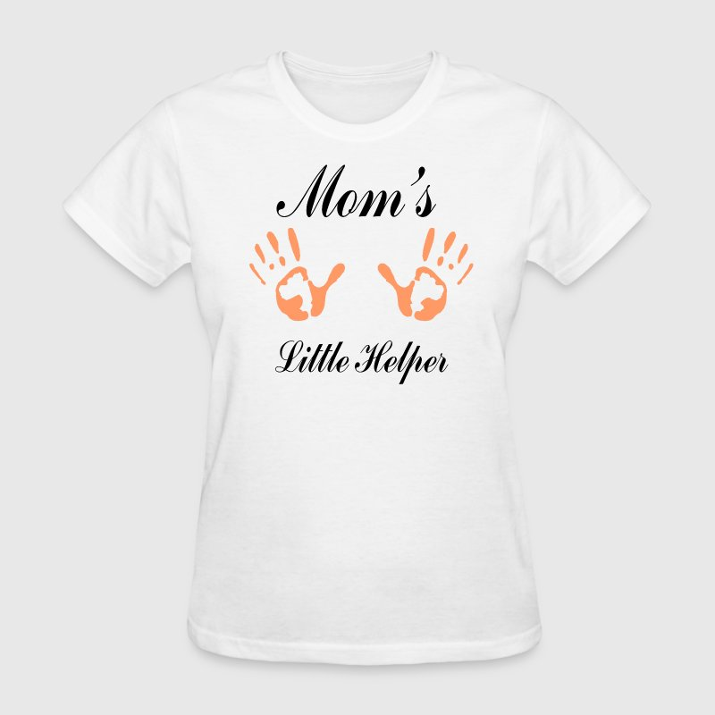 Mother's Day Mom's Little Helper T-Shirt - Women's T-Shirt