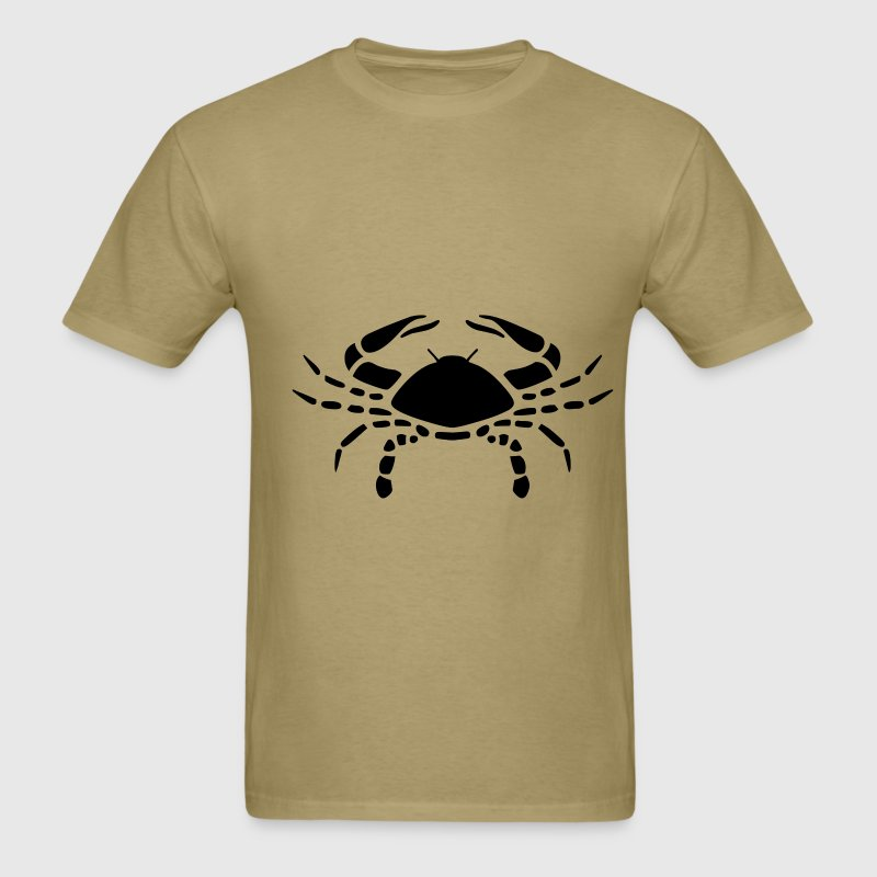 Cancer Zodiac Sign T-shirt - Cancer Symbol Crab - Men's T-Shirt