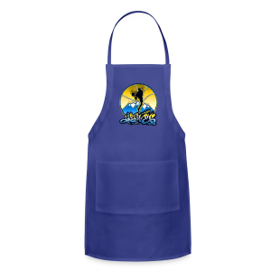 Denver - Blue and Yellow - Mens - Adjustable Apron