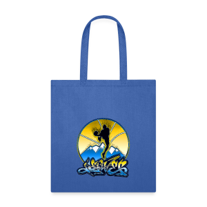 Denver - Blue and Yellow - Mens - Tote Bag