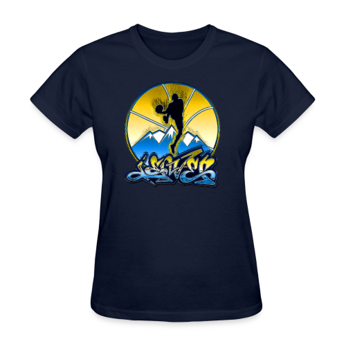 Denver - Blue and Yellow - Hoodie - Women's T-Shirt