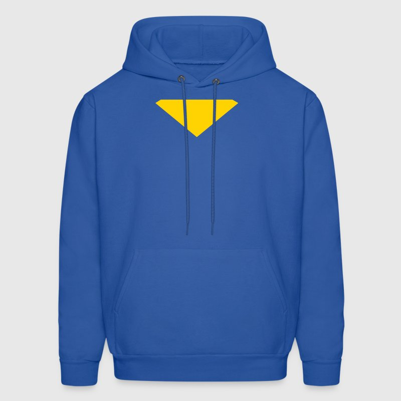 Hero Style, triangle, Iron Man, Superman Hoodies - Men's Hoodie