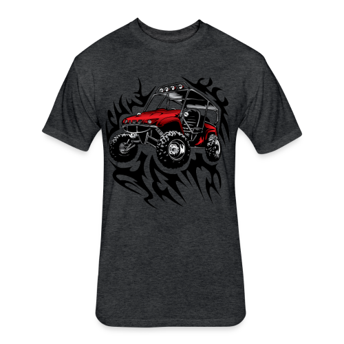 offroad utv side by side shirt - Fitted Cotton/Poly T-Shirt by Next Level